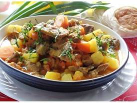 Bò hầm đậu trắng bổ dưỡng