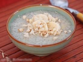 Chè chuối nước cốt dừa ngon ngọt cực kỳ