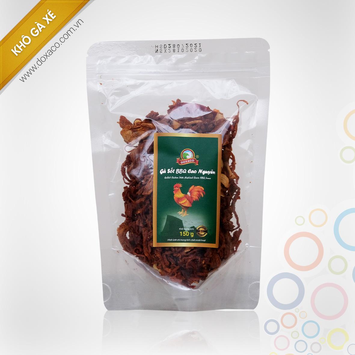 Gà Sốt BBQ Cao Nguyên 150g